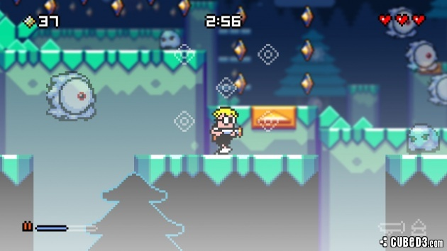 Screenshot for Mutant Mudds Deluxe on Wii U eShop - on Nintendo Wii U, 3DS games review