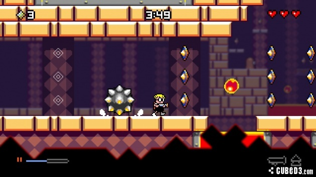Screenshot for Mutant Mudds Deluxe on Wii U eShop- on Nintendo Wii U, 3DS games review