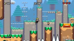 Screenshot for Mutant Mudds Deluxe - click to enlarge