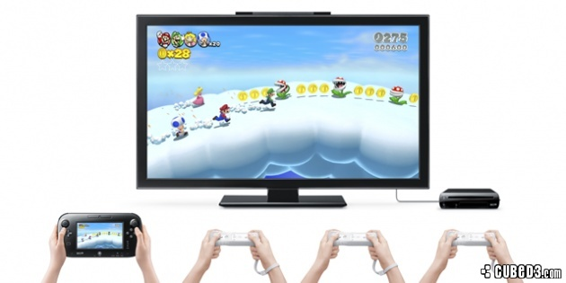 Image for E3 2013 | Nintendo Confirms Wii U Pro Controller for Super Mario 3D World