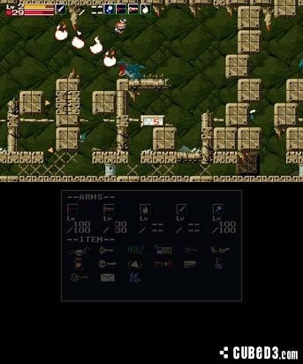 Screenshot for Cave Story on 3DS eShop - on Nintendo Wii U, 3DS games review