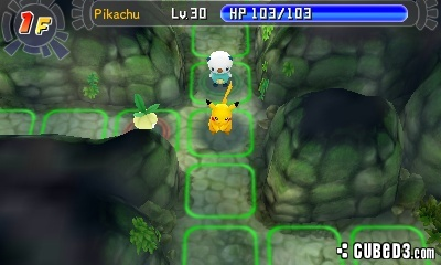 Screenshot for Pokémon Mystery Dungeon: Gates to Infinity on Nintendo 3DS - on Nintendo Wii U, 3DS games review