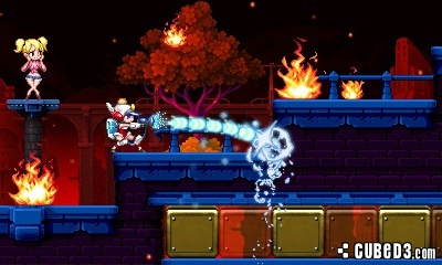 Screenshot for Mighty Switch Force! 2 on 3DS eShop - on Nintendo Wii U, 3DS games review