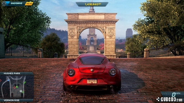 Screenshot for Need for Speed: Most Wanted on Wii U - on Nintendo Wii U, 3DS games review