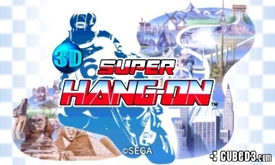 Screenshot for 3D Super Hang-On on 3DS eShop - on Nintendo Wii U, 3DS games review