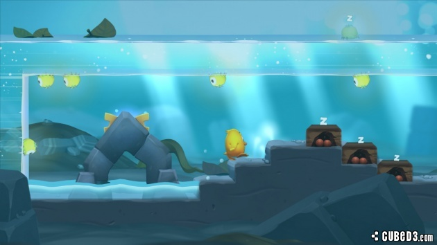 Screenshot for Toki Tori 2 on Wii U eShop - on Nintendo Wii U, 3DS games review