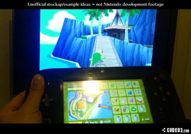 Image for How Zelda: Wind Waker Might Work on Wii U: Gameplay Video Mock-up