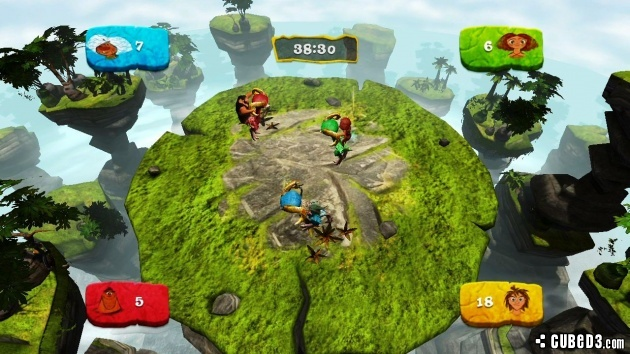 Screenshot for The Croods: Prehistoric Party! on Wii U - on Nintendo Wii U, 3DS games review