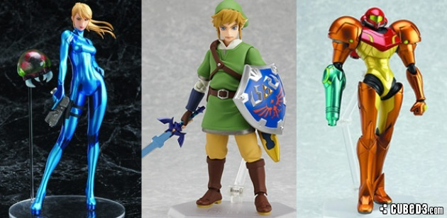 News: Figma Link and Samus Heading Stateside Page 1 - Cubed3