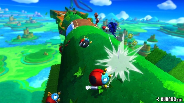 Screenshot for Sonic Lost World (Hands-On) on Wii U