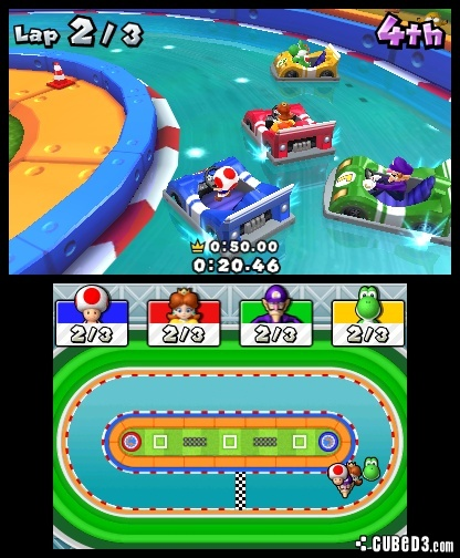 Screenshot for Mario Party: Island Tour on Nintendo 3DS