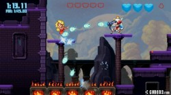 Screenshot for Mighty Switch Force! 2 - click to enlarge