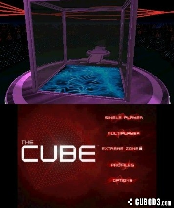 Screenshot for The Cube on 3DS eShop - on Nintendo Wii U, 3DS games review