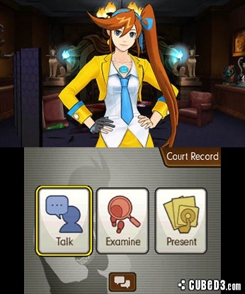 Screenshot for Phoenix Wright: Ace Attorney - Dual Destinies on 3DS eShop - on Nintendo Wii U, 3DS games review