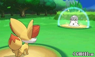 Screenshot for Pokémon X and Pokémon Y on Nintendo 3DS - on Nintendo Wii U, 3DS games review