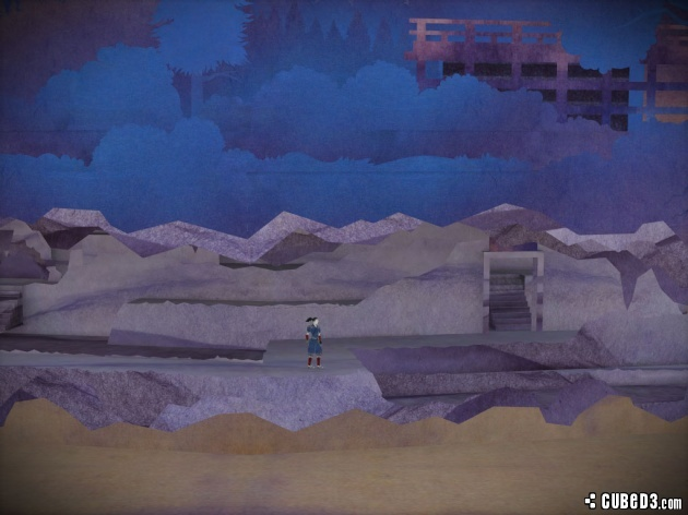 Screenshot for Tengami (Hands-On) on Wii U