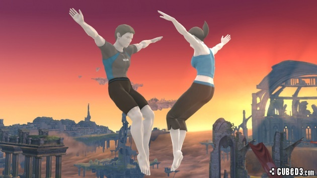 Image for Male Wii Fit Trainer Does Super Smash Bros.
