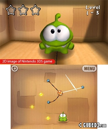 Screenshot for Cut the Rope on 3DS eShop - on Nintendo Wii U, 3DS games review
