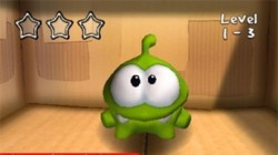 Screenshot for Cut the Rope - click to enlarge