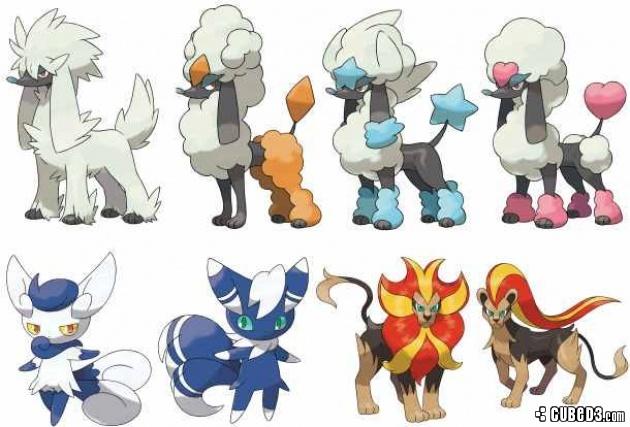All Mega Evolution Pokemon X And Y News New Pokmon Details
