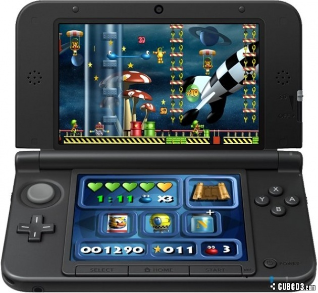 Screenshot for Putty Squad (Hands-On) on Nintendo 3DS