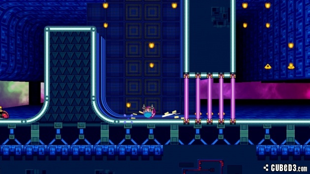 Screenshot for Scram Kitty and his Buddy on Rails on Wii U eShop - on Nintendo Wii U, 3DS games review