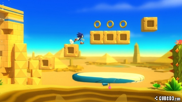 Screenshot for Sonic Lost World on Wii U- on Nintendo Wii U, 3DS games review