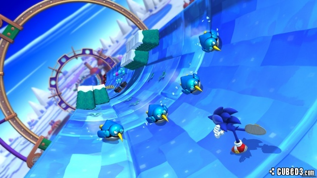 Screenshot for Sonic Lost World on Wii U - on Nintendo Wii U, 3DS games review