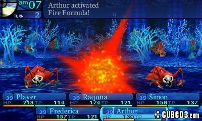 Screenshot for Etrian Odyssey Untold: The Millennium Girl on Nintendo 3DS - on Nintendo Wii U, 3DS games review