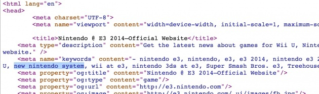 Image for Rumour: Nintendo Revealing New System at E3?