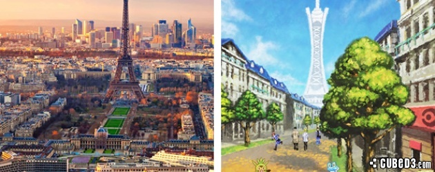 Image for Feature | Pokémon X and Y - The French Inspiration