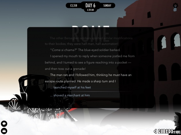 Screenshot for 80 Days on iOS