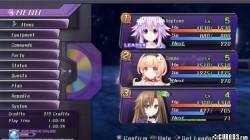 Screenshot for Hyperdimension Neptunia Re;Birth1 - click to enlarge