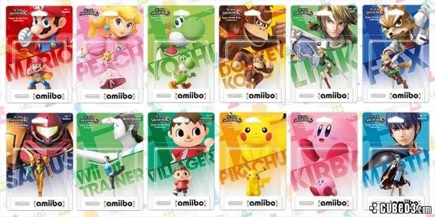 Image for Amiibo Launching This Year with First Twelve Figures Revealed