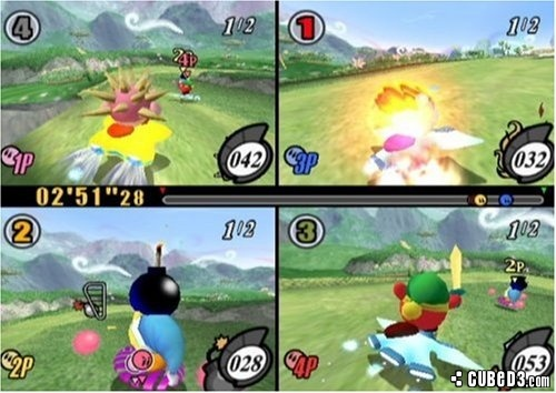 Screenshot for Kirby Air Ride on GameCube