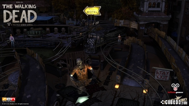 Screenshot for Zen Pinball 2: The Walking Dead on PlayStation 4