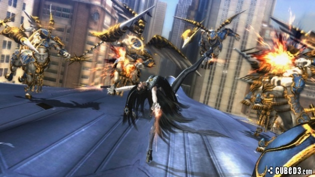 Screenshot for Bayonetta 2 (Hands-On) on Wii U