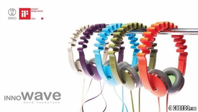 Image for Feature | Tech Up! INNOWAVE Headphones