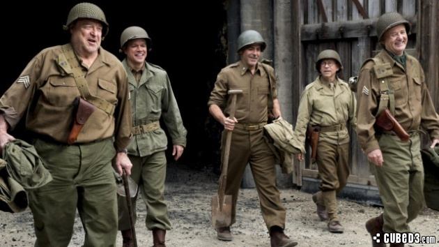 Image for Feature | Lights, Camera, Action! – The Monuments Men (Movie Review)