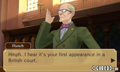Screenshot for Professor Layton vs. Phoenix Wright: Ace Attorney on Nintendo 3DS