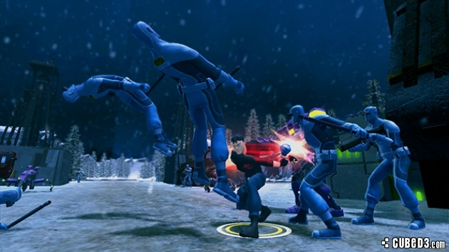 Screenshot for Young Justice: Legacy on PlayStation 3