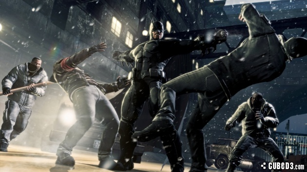 Screenshot for Batman: Arkham Origins on Wii U - on Nintendo Wii U, 3DS games review