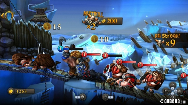 Screenshot for CastleStorm on Wii U eShop - on Nintendo Wii U, 3DS games review