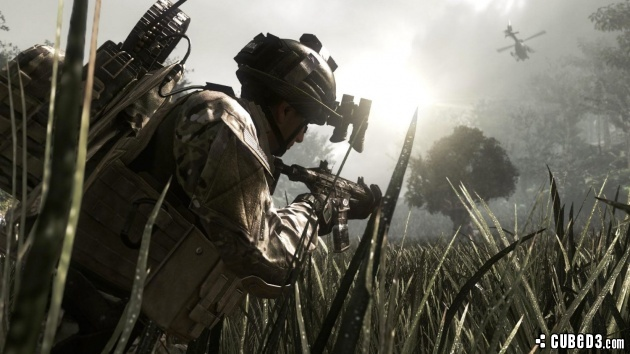 Screenshot for Call of Duty: Ghosts on Wii U- on Nintendo Wii U, 3DS games review