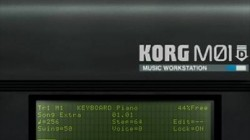 Screenshot for KORG M01D - click to enlarge