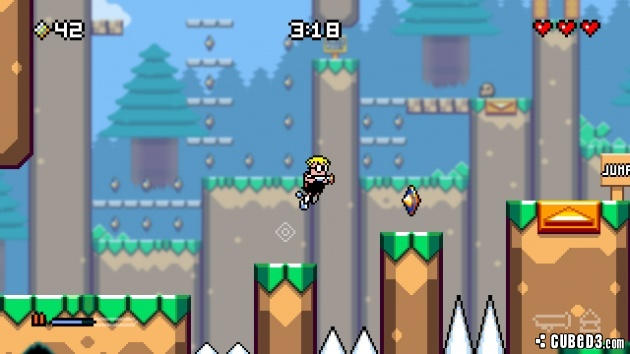 Screenshot for Mutant Mudds Deluxe on PC