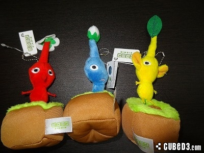 Image for Pluck-able Pikmin Plushies Sprout in Japan