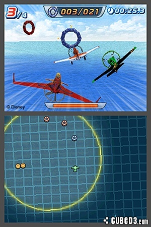 Screenshot for Disney Planes on Nintendo DS - on Nintendo Wii U, 3DS games review