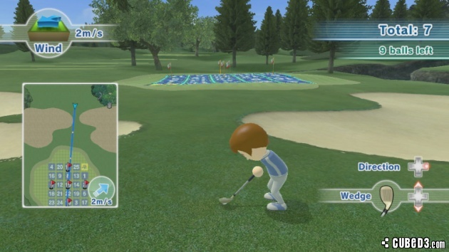 Screenshots character art and wallpapers for wii sports club golf
