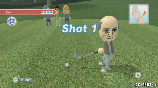 Screenshot for Wii Sports Club - Golf on Wii U